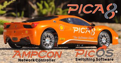 Pica8 Orange Ferrari For Linked In