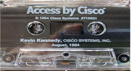 stretched out cisco cassette